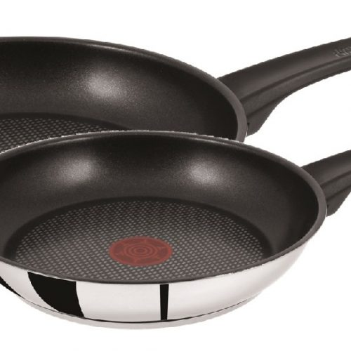 TEFAL JAMIE OLIVER 20/26 CM FRYPAN TWIN PACK