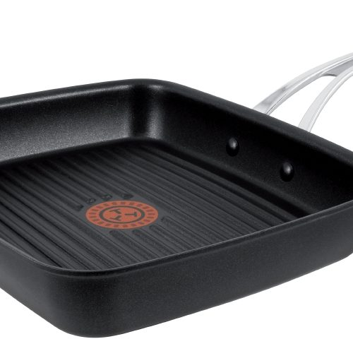 TEFAL JAMIE OLIVER HARD ANODISED INDUCTION GRILL