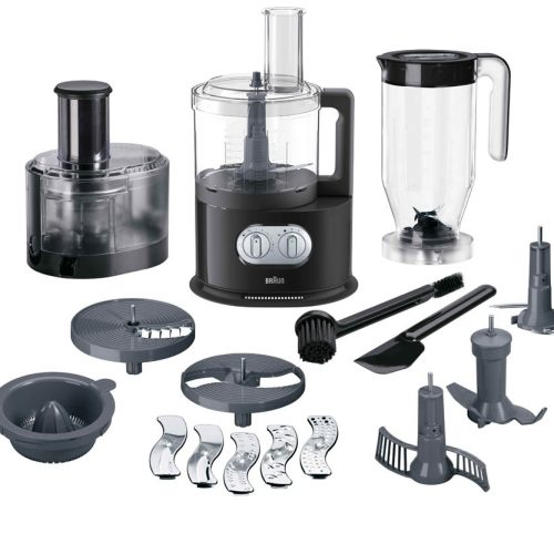 BRAUN IDENTITY COLLECTION BLACK FOOD PROCESSOR