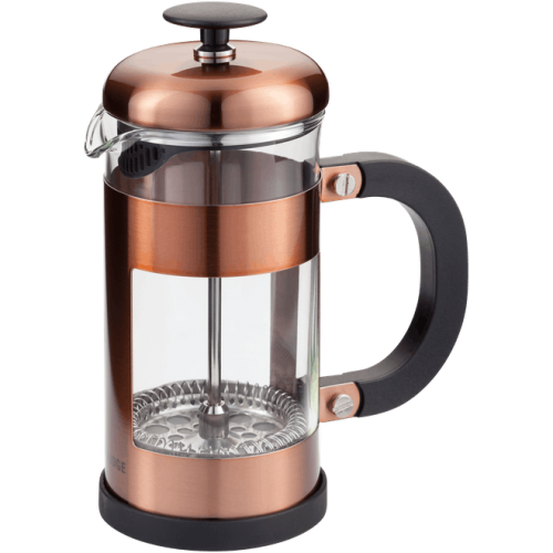 JUDGE COFFEE 3 CUP GLASS CAFETIERE 350ML COPPER