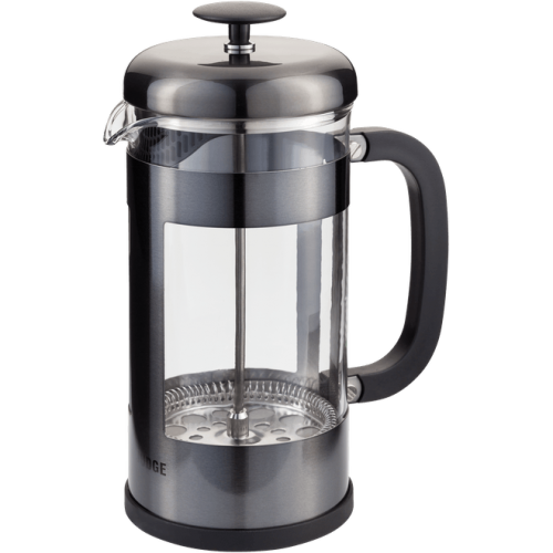 JUDGE COFFEE 8 CUP GLASS CAFETIERE 1L ANTHRACITE
