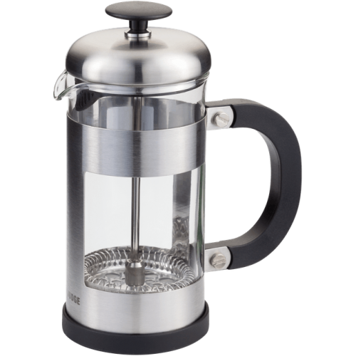 JUDGE COFFEE 3 CUP GLASS CAFETIERE 350ML SILVER