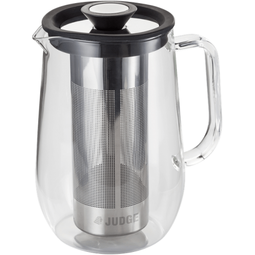 JUDGE BREW CONTROL 8 CUP GLASS CAFETIERE 900ML