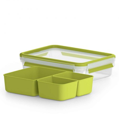 TEFAL MASTERSEAL TO GO 1.2L RECTANGLE BRUNCH BOX