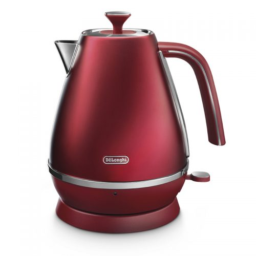 DELONGHI DISTINTA FLAIR 1.7L KETTLE GLAMOUR RED