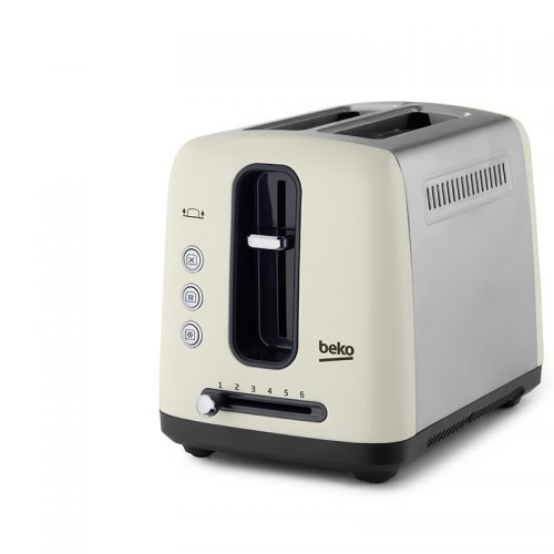 BEKO TRADITIONAL 2 SLICE TOASTER – CREAM