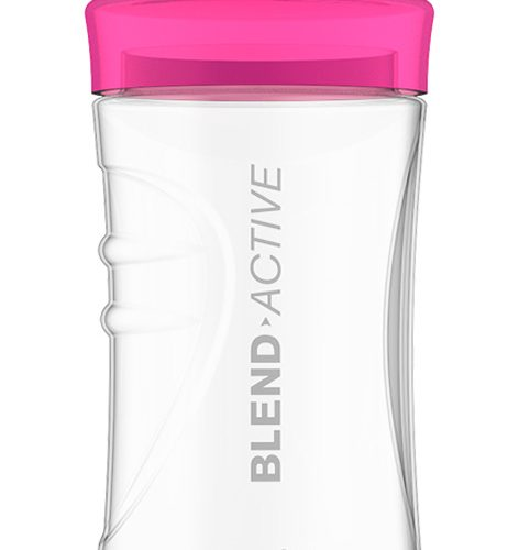 BREVILLE BLEND ACTIVE 300ML PINK SPORTS BOTTLE