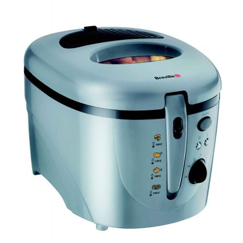 BREVILLE DEEP FAT FRYER IN SILVER