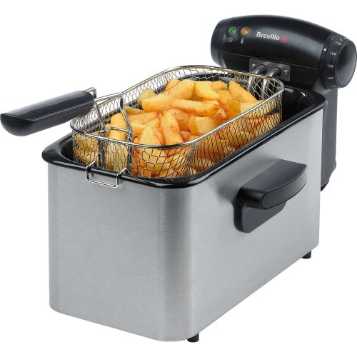 BREVILLE DEEP FAT FRYER BRUSHED STAINLESSS STEEL