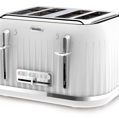 BREVILLE IMPRESSION COLLECTION TOASTER WHITE