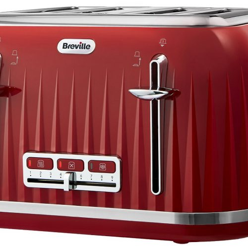 BREVILLE IMPRESSION COLLECTION TOASTER RED